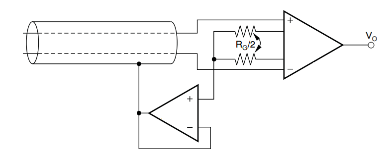 final load cell amplifier schematic