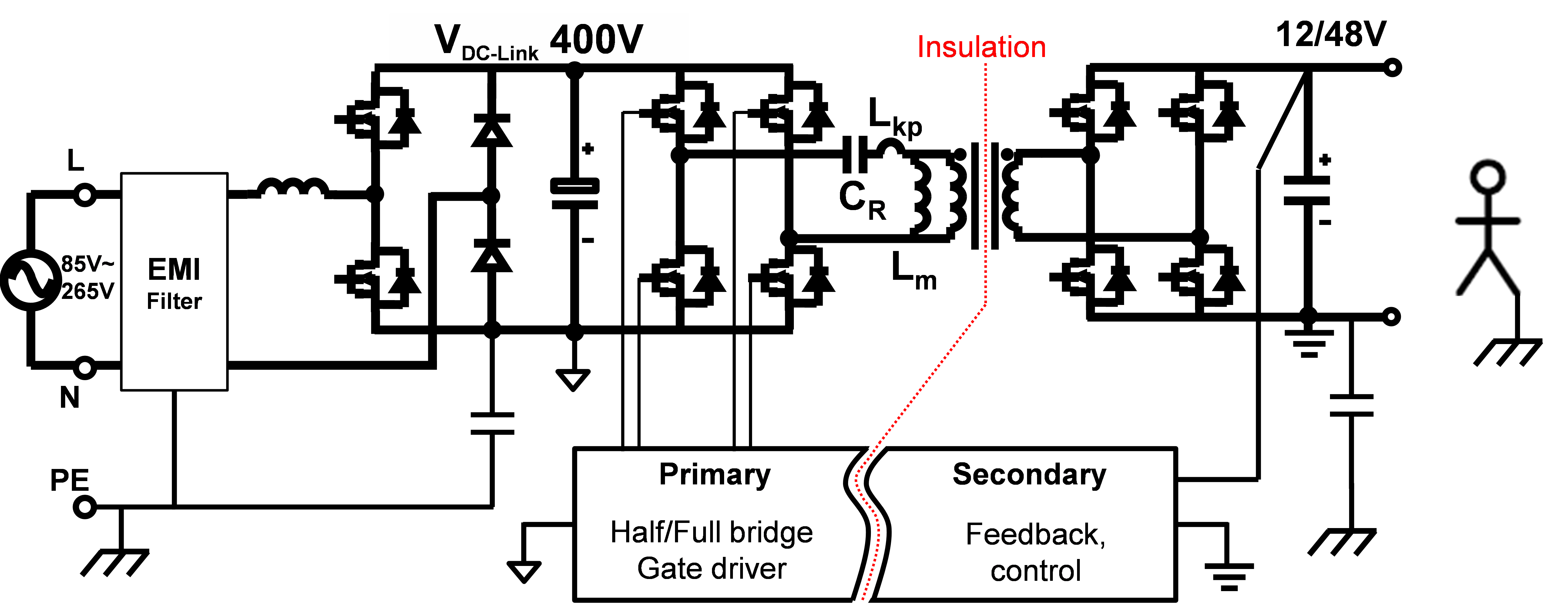 wiring diagram boosting transformer