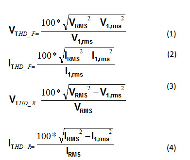 Quantifying harmonic distortion Estimating THD without performing a