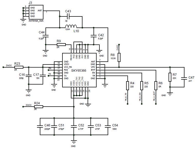 spectrum analyzer circuit diagram