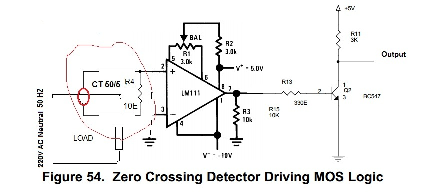 zero crossing detector using ic 311