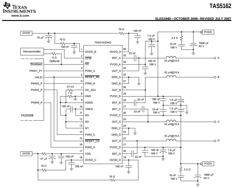 you followed this schematic right