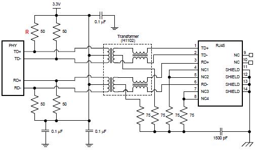 circuit and resistors