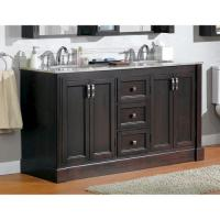 "Magick Woods 61"" Wellington Collection Vanity Base at Menards"