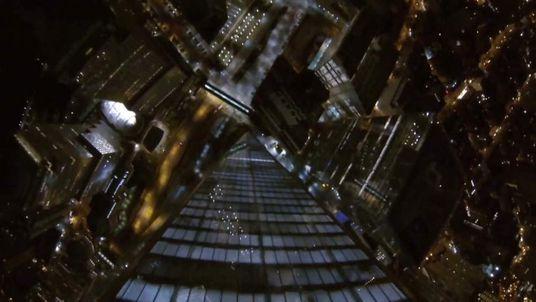 Freedom tower base jump