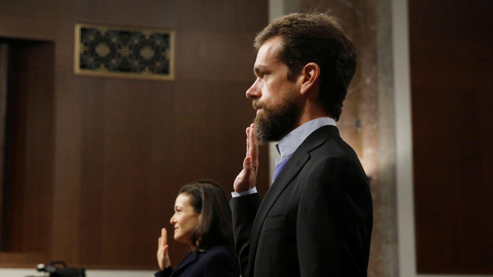 Facebook And Twitter Bosses Unscathed After Feeble Senate