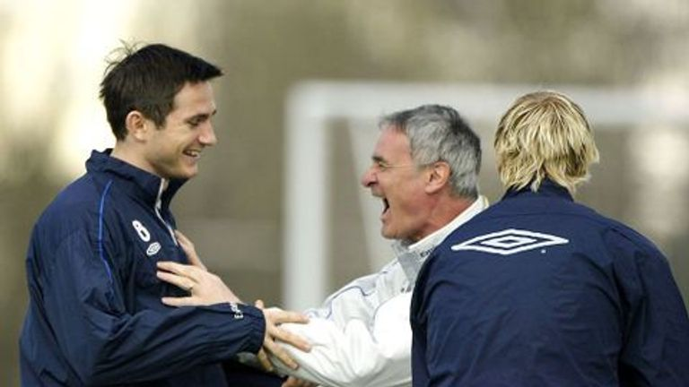 Frank Lampard Says Claudio Ranieri Changed His Career When
