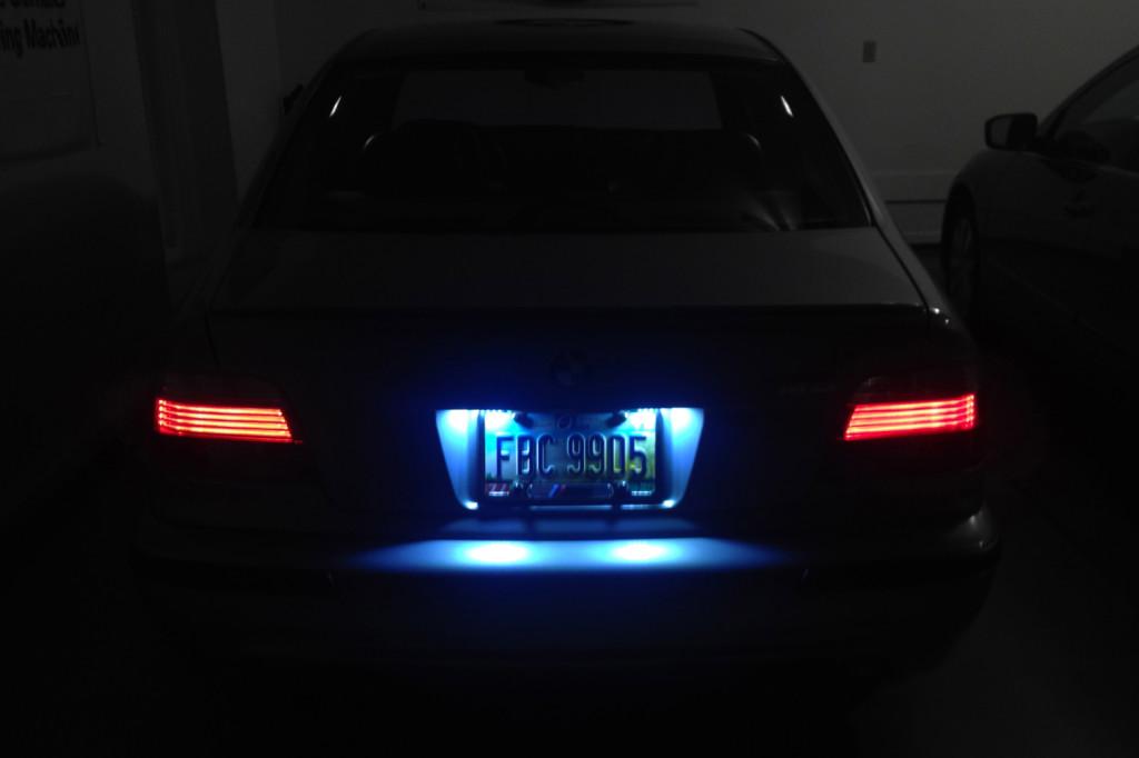 BMW E39, E38, E46 LED License Plate Lights BMW E39Source