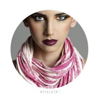 Womens Summer Scarf, Neck Scarves, Hipster Scarf, Pink ...