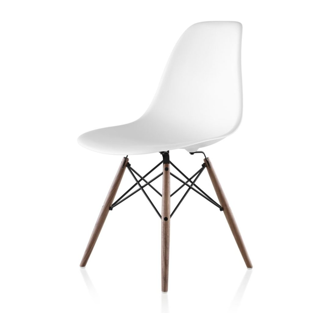 Eames Chair Beige Herman Miller Eames Plastic Side Chair Dowel Base The Century House Madison Wi