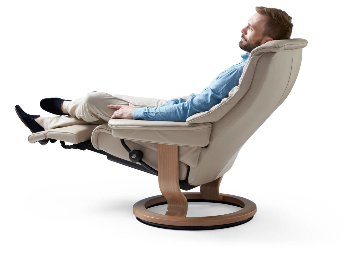 Stressless Nordic Legcomfort Stressless Live Chair With Legcomfort The Century House Madison Wi