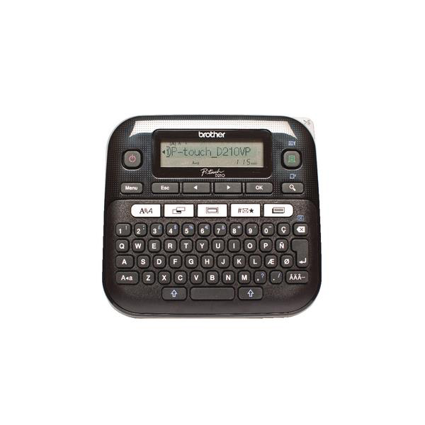 Brother P-Touch Labelmaker Desktop and Case 8 fonts TZE max 12mm