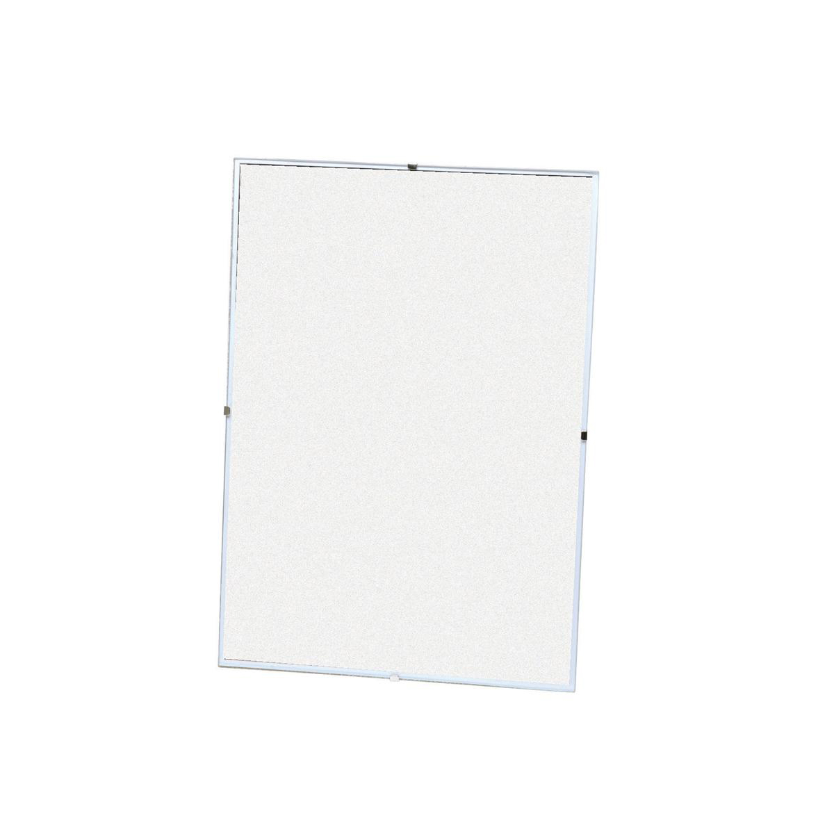 A2 White Frame 5 Star Office Clip Frame Plastic Front For Wall Mounting Back