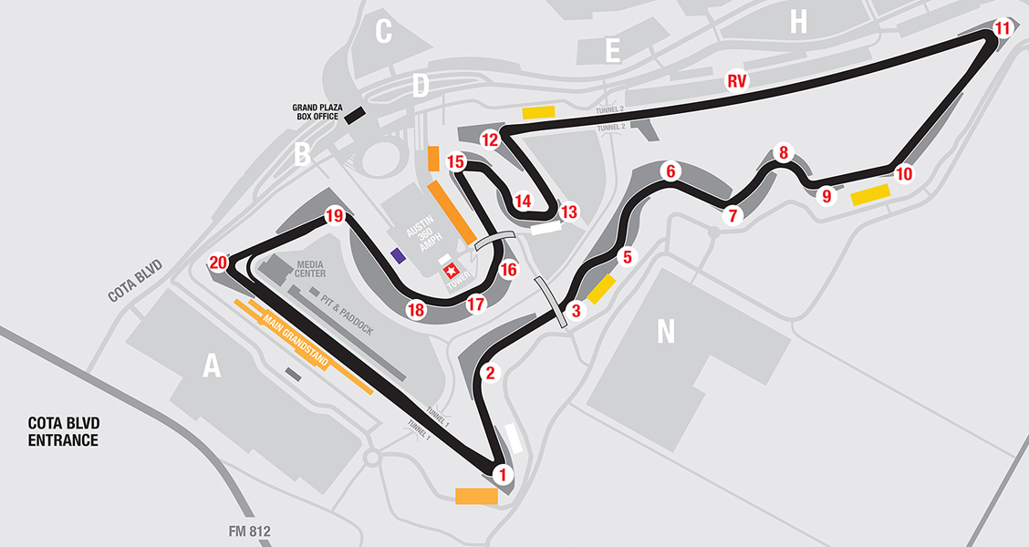 About Circuit of The Americas