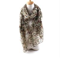 Women Beauty Voile Beach Printed Scarf Shawl Wrap Large ...