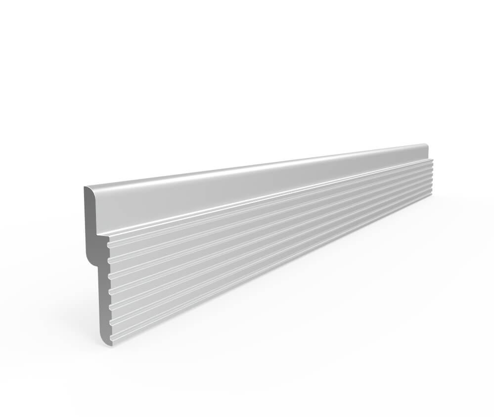 Aluminum Z Clip 1 1 4quot Tall X 240quot Stand Off X 3 8