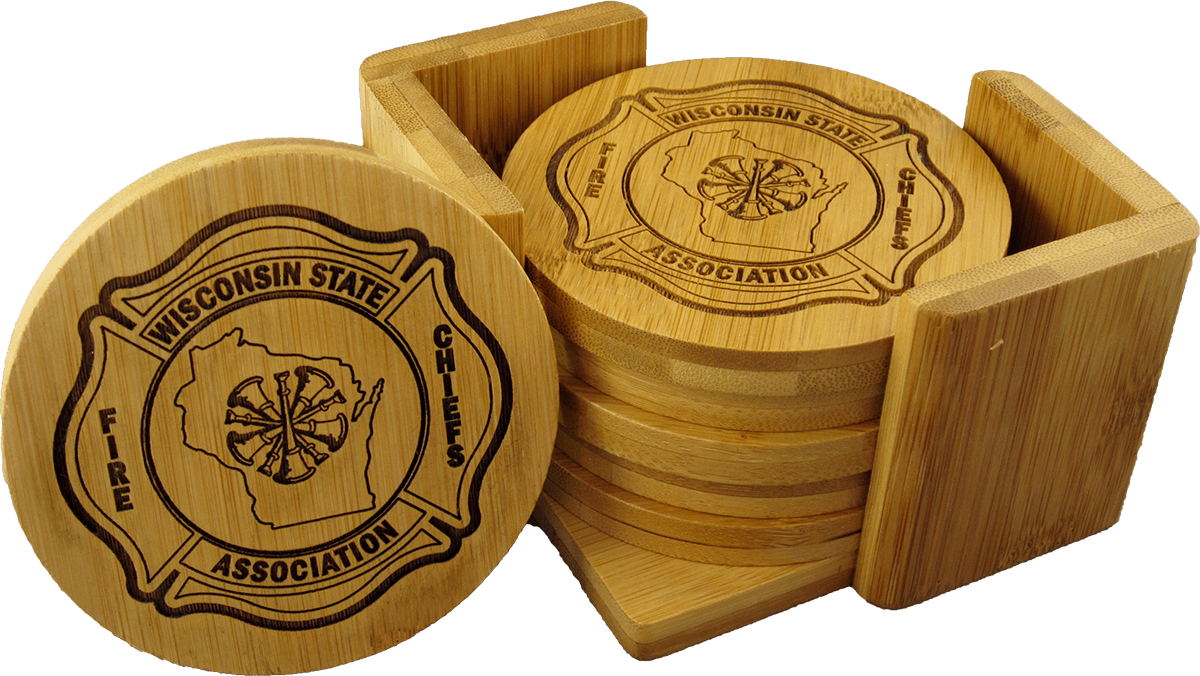 Wooden Coaster Holder Wsfca Wood Coaster Set