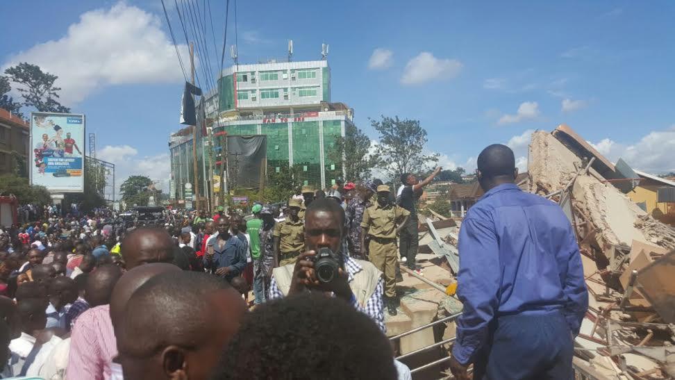 Photos Makerere 6 Floor Building Collapses Scores Dead