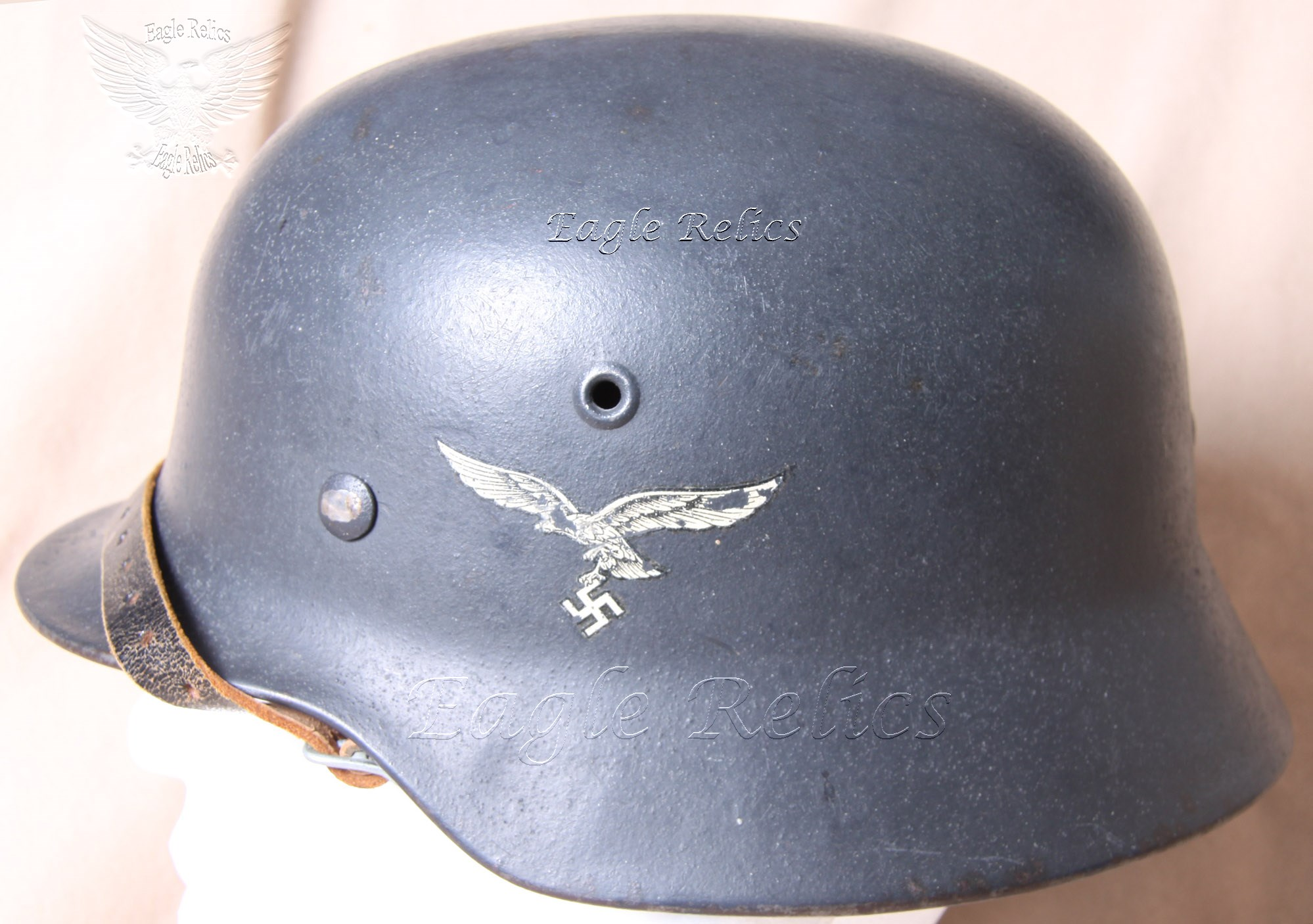 Strahlhelm Luftwaffe Single Decal Stahlhelm M40 Eagle Relics