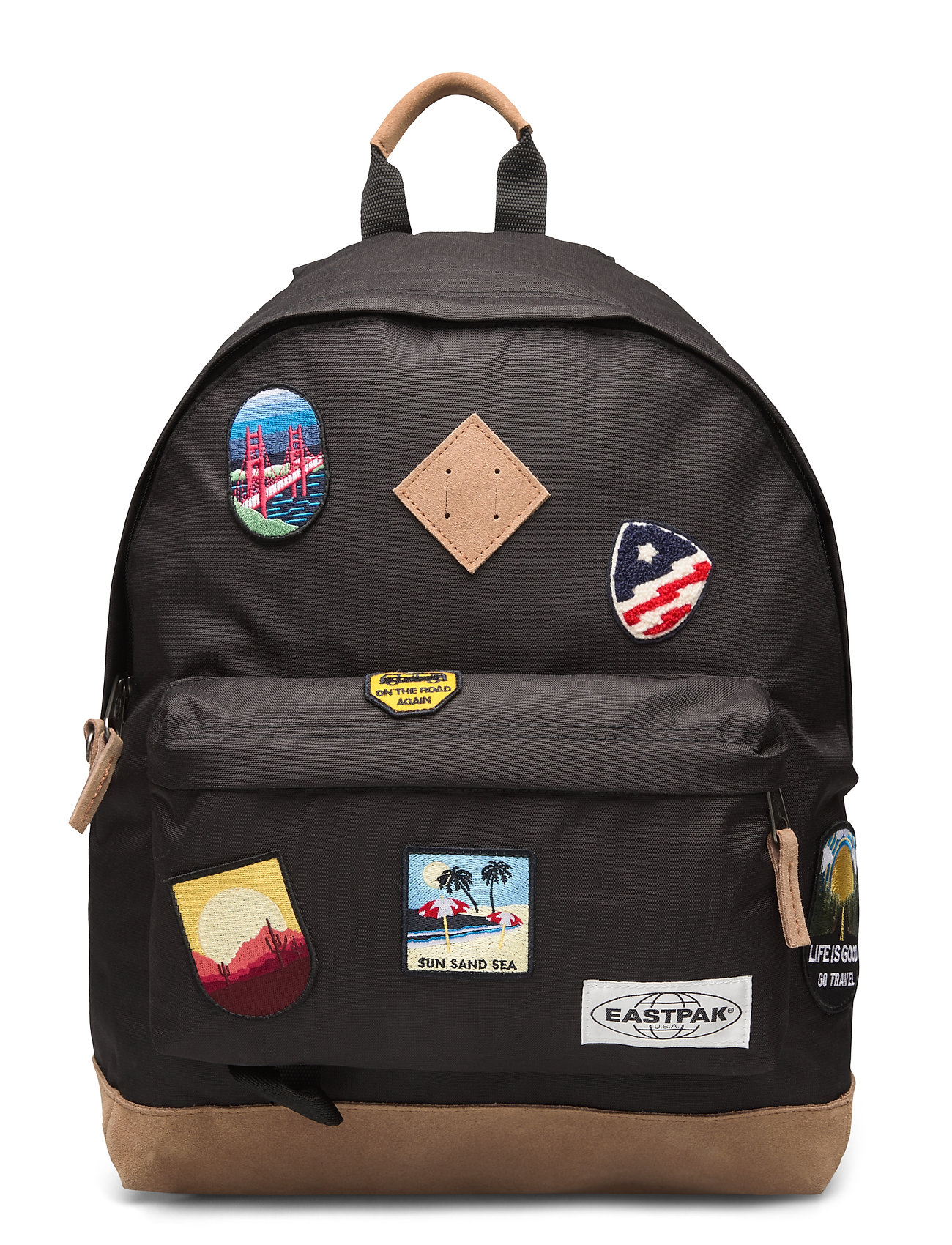 Eastpak Wyoming Into Patch Black 40 Large Selection Of Outlet Styles Booztlet Com