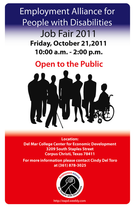 EAPD 1st Annual Job Fair - 2011 - Employment Alliance for People - what to ask at a job fair