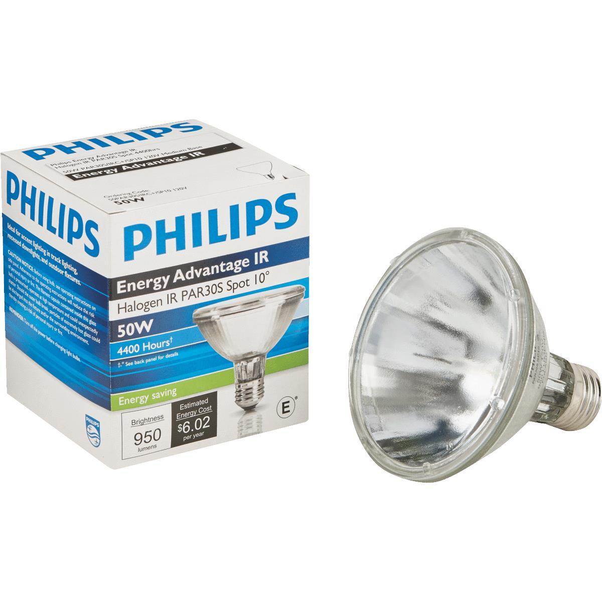 Halogen Spotlight Bulbs Philips Energy Advantage Ir Par30 Halogen Spotlight Light Bulb