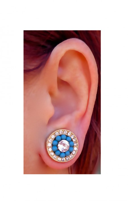 Keloid Lobe Pressure Large Strong 19mm Magnetic