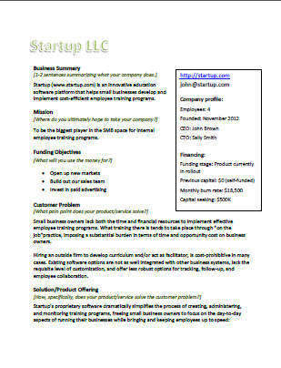 executive summary cover letter - Antaexpocoaching