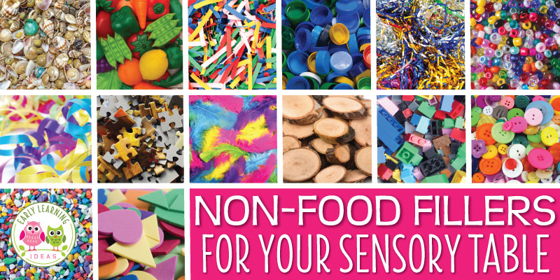 100 of the best non-food sensory table material ideas - Early