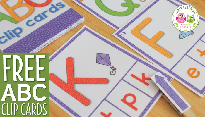 Do you want to download this ABC Activity Freebie? - Early Learning