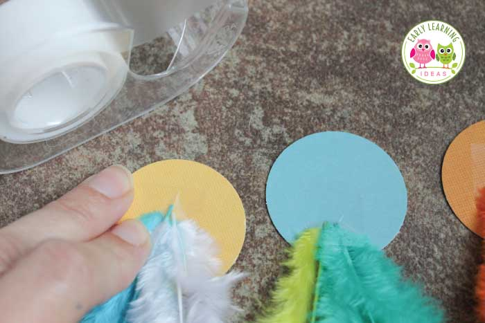 Fine Motor Activity for Kids  Make Feather Necklaces - Early