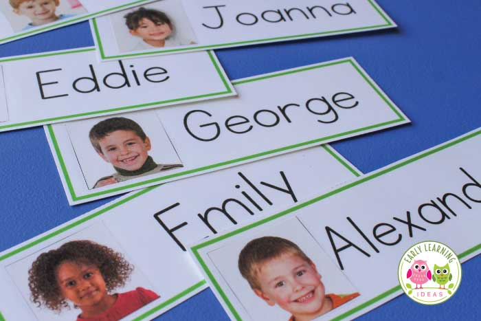 Name Cards Make Name Cards for Your Word Wall - Early Learning Ideas