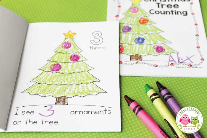 A Christmas Tree Printable for Your Kids A Free Counting Book
