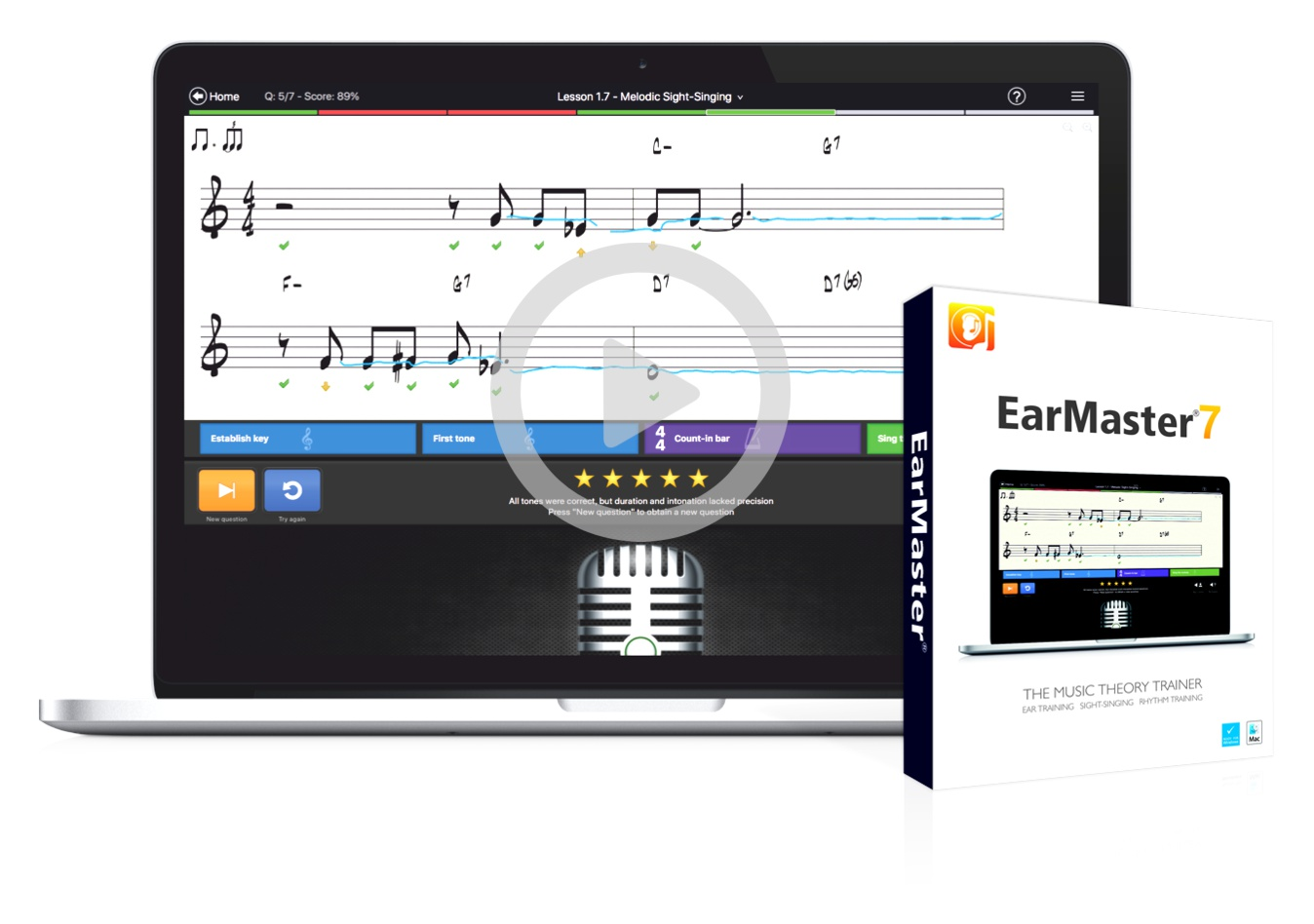 Music Box Kaufen Earmaster 7 The 1 Music Theory Ear Training Software