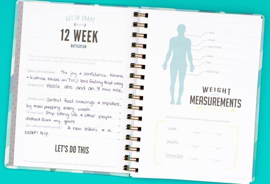 fitness planner - Gurekubkireklamowe