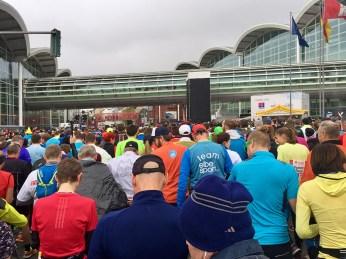 Hamburg Marathon Womens Race Start