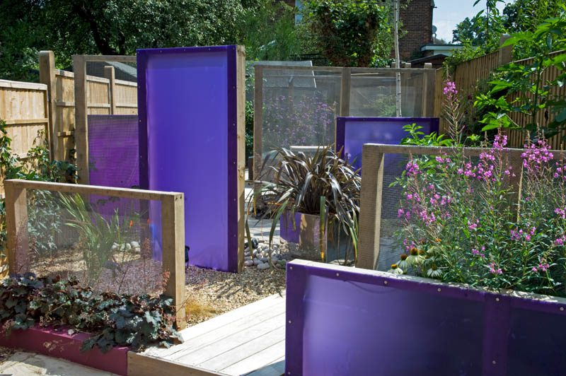 Sichtschutz Terrasse Selber Machen Garden Design Top Tips: Putting Things Into Perspex-tive