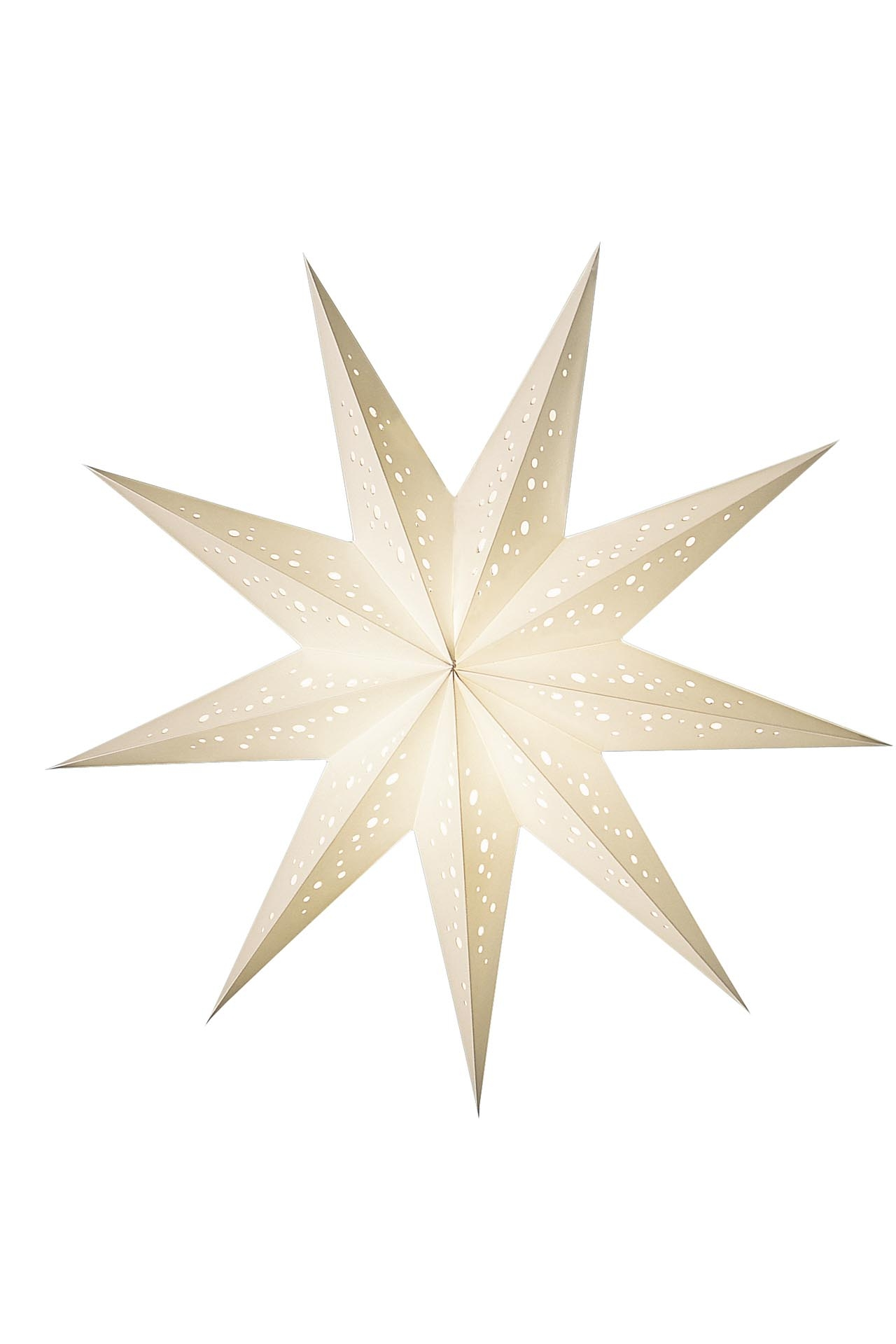 Papierstern Beleuchtet Earth Friendly Starlightz Baby Bianco Earth Friendly
