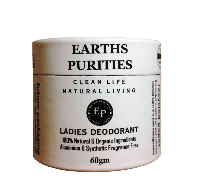 Earths Purities Ladies Natural Paste Deodorant 60gm