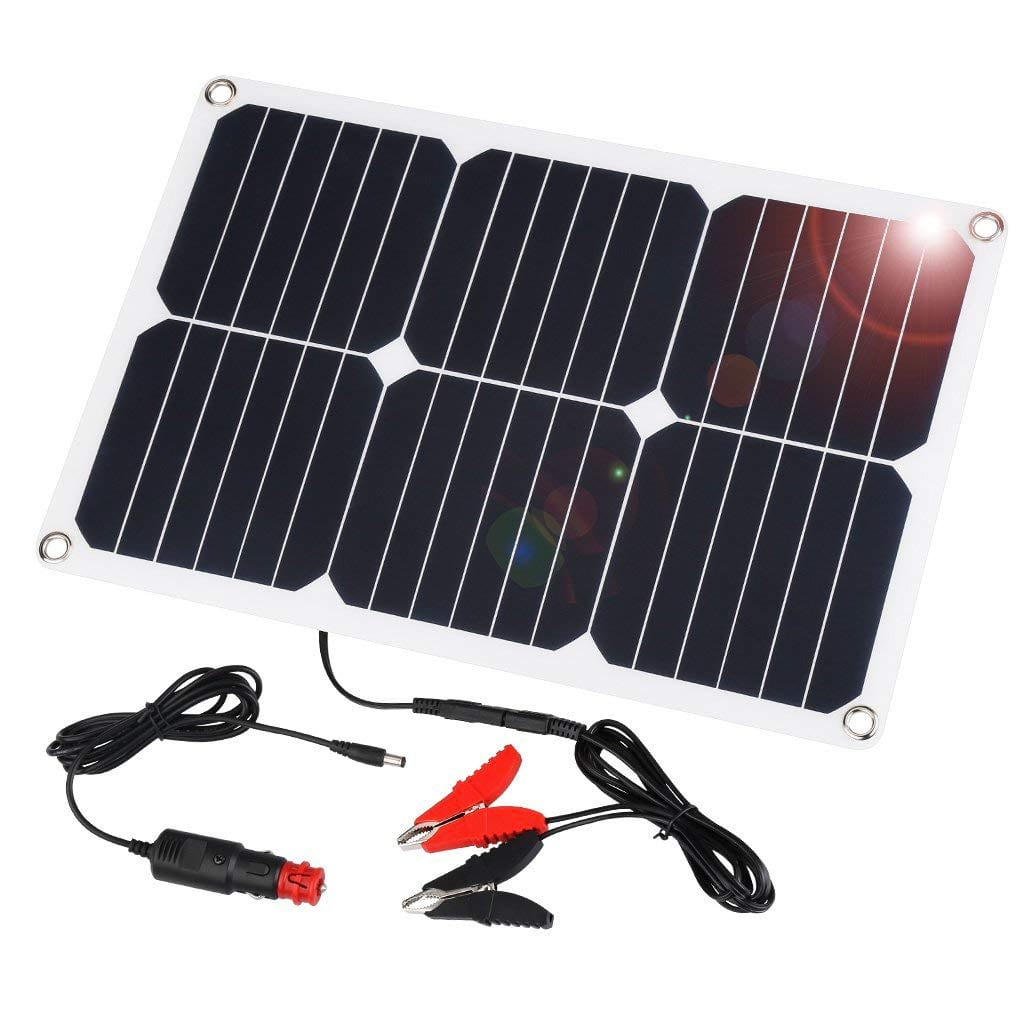 Pool Solarplane 4 X 8 8 Best Solar Car Battery Chargers For 2019 Earthtechling