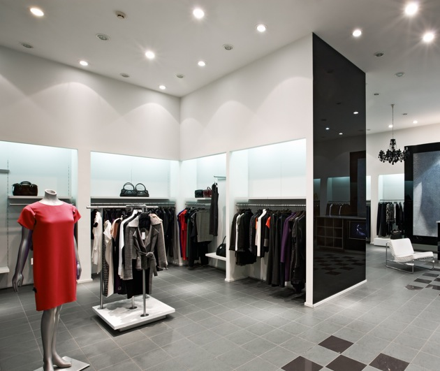 Led Ceiling Light Fixtures Residential Retail Lighting Requires Energy Efficiency, Color Balance