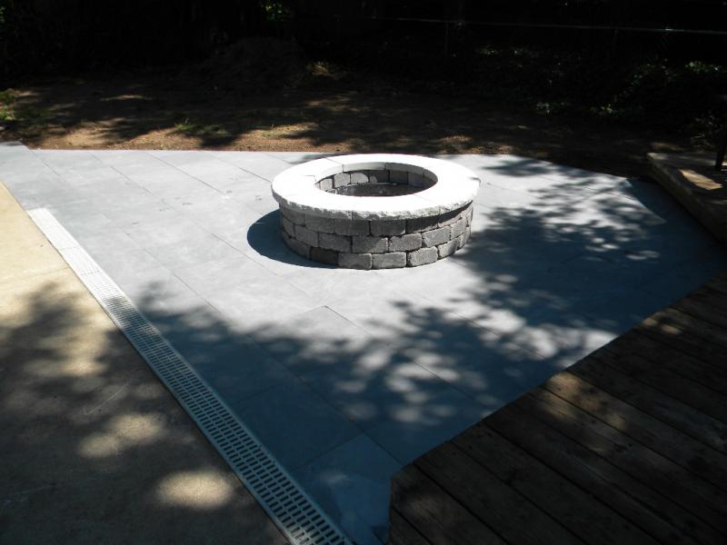 Fire Ring & Patio
