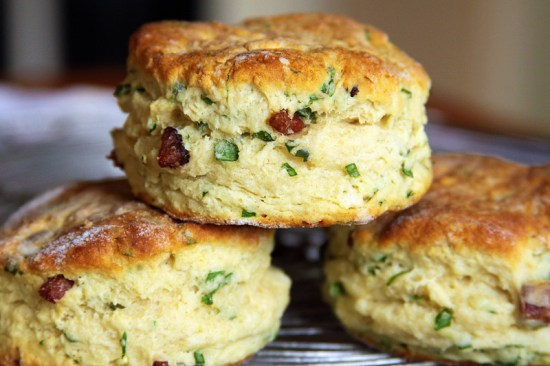 Buttermilk Ramp Biscuits, hot from the oven