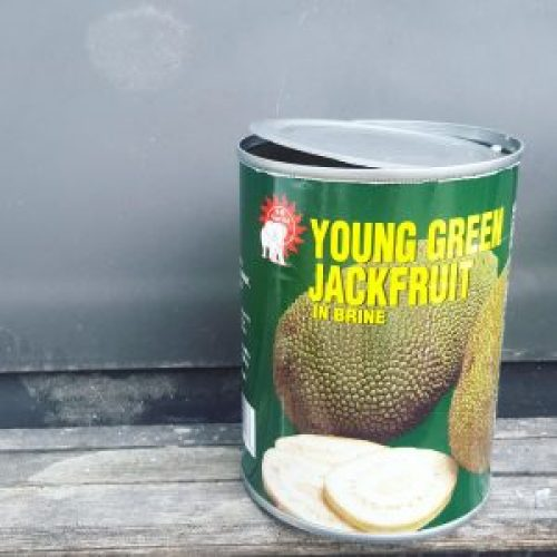 Jackfruit is easy to find at the Asian market!