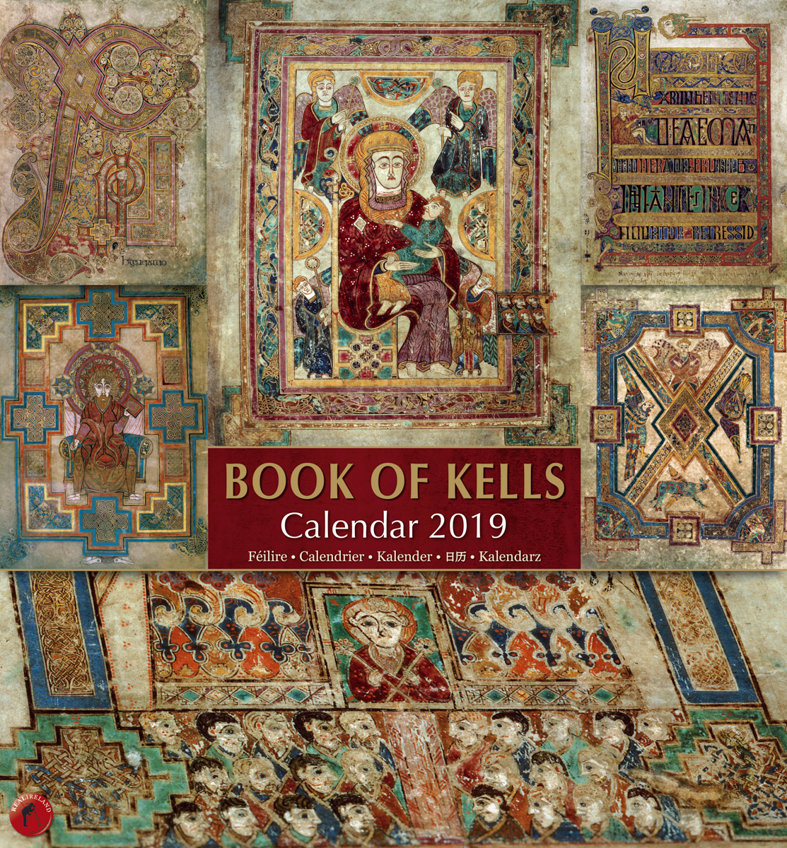 Art Wolfe Kalender Book Of Kells Large Calendar