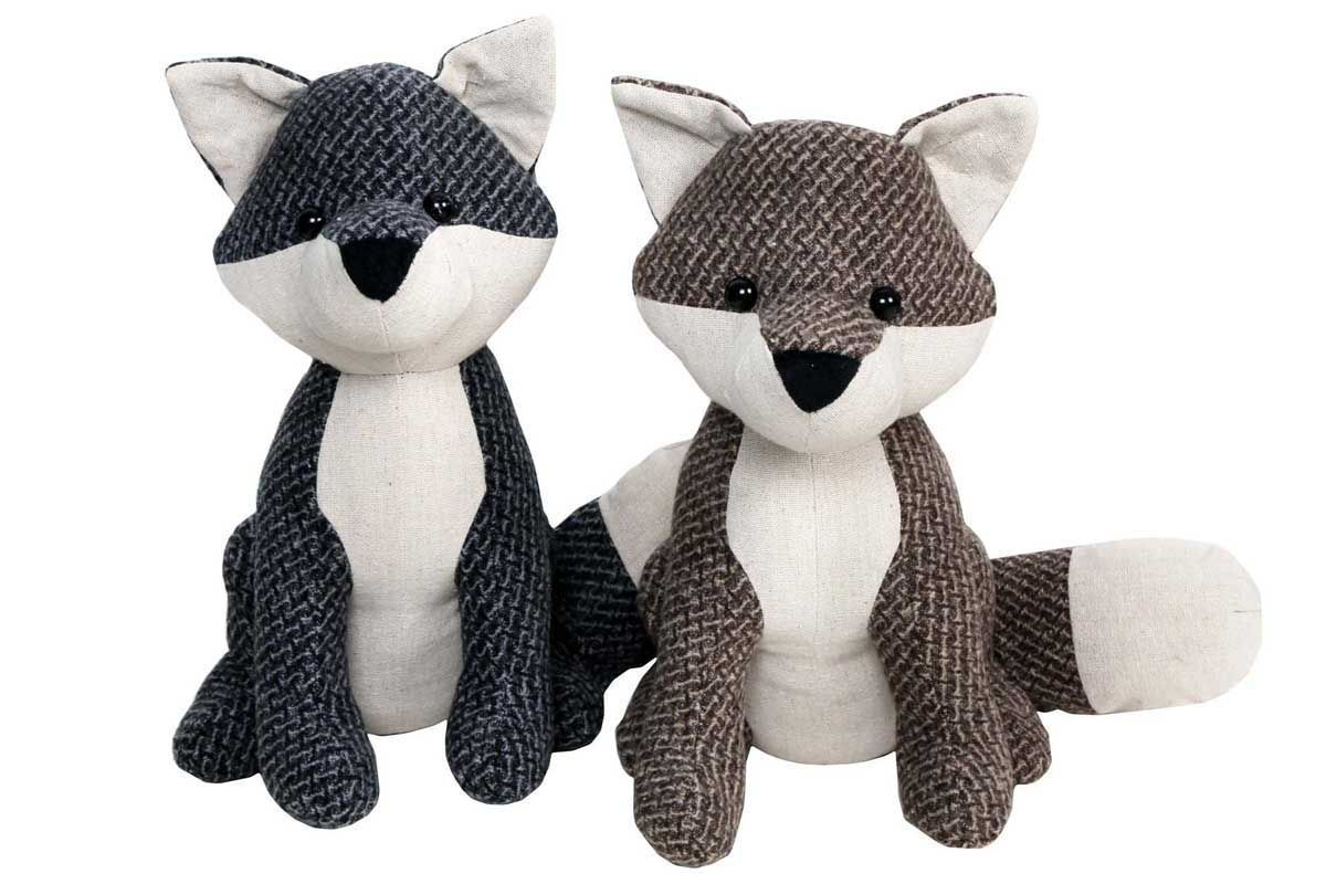 Animal Door Stops Uk Fox Design Soft Fabric Door Stop Doorstop Stopper Weight