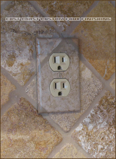 Decorative Outlet Covers Custom Faux Finished Outlet Covers By Phoenix Arizona