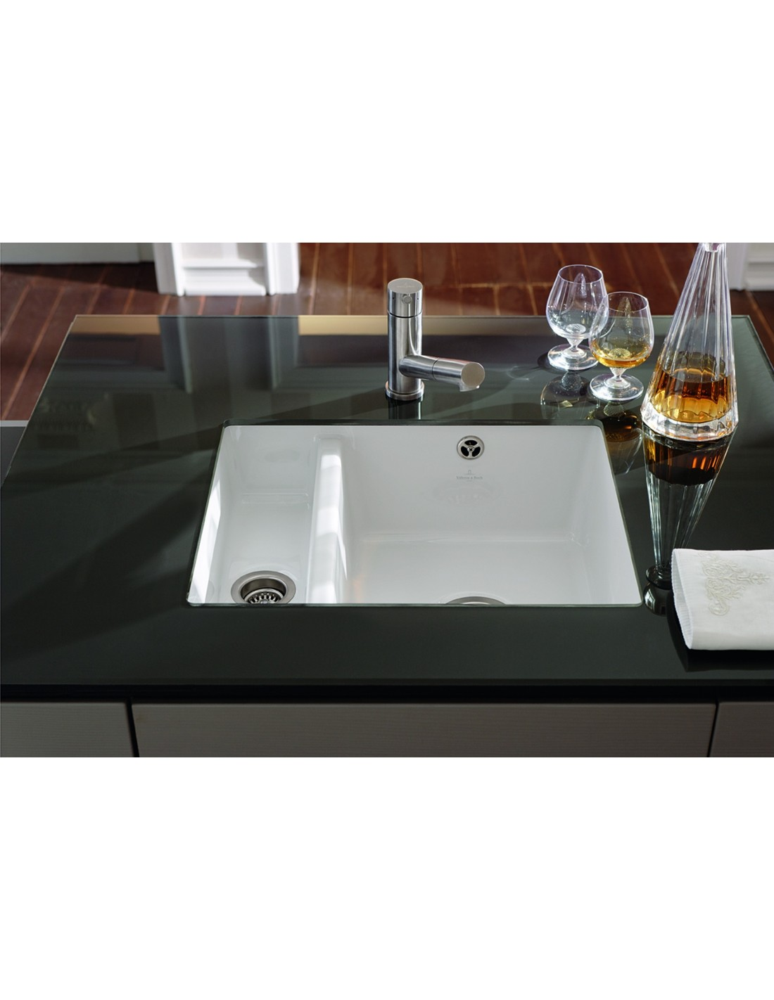 Ceramic Kitchen Sink Villeroy And Boch Subway 60xu Kitchen Sink Undermount 1 5