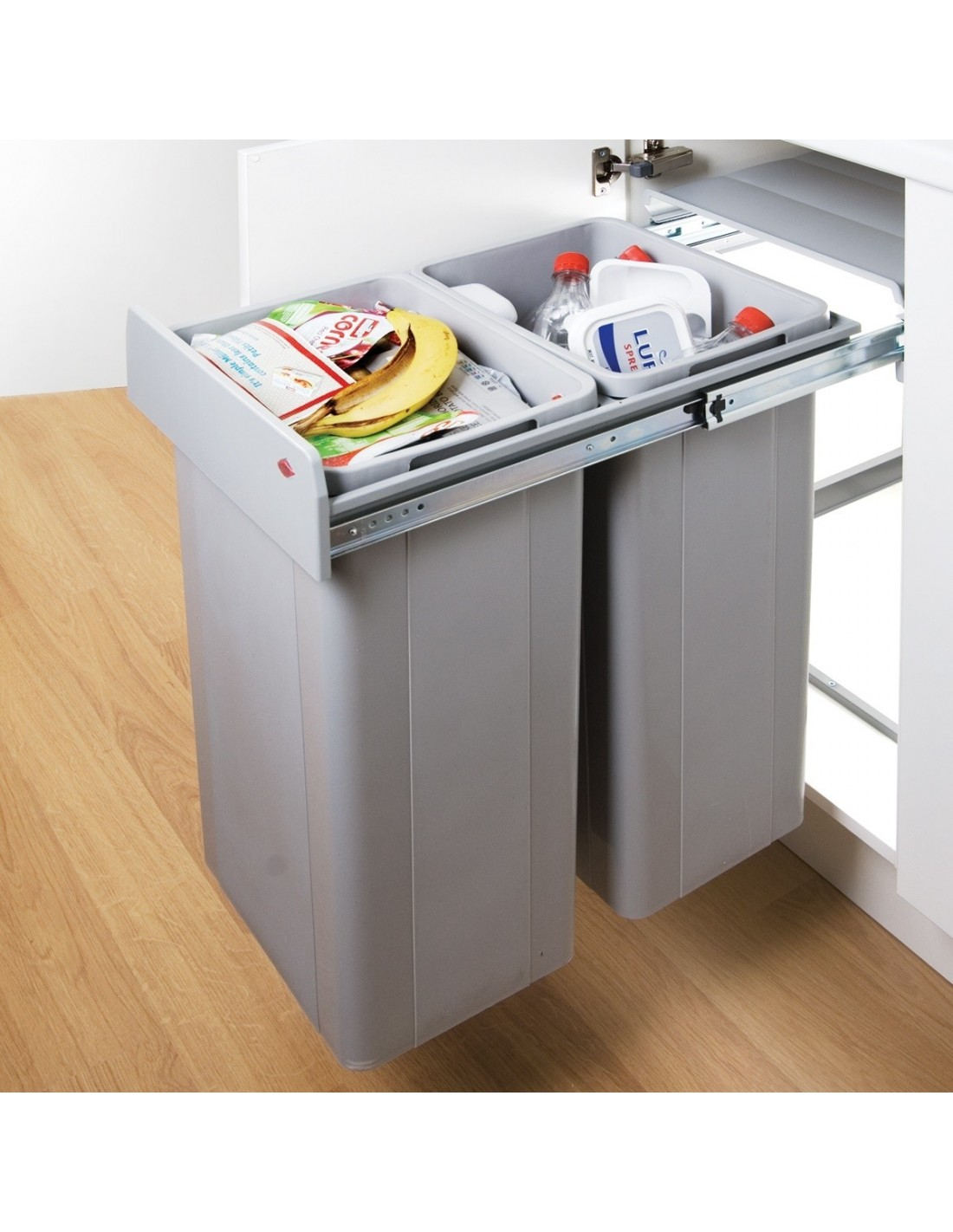 Door Mounted Pull Out Bin 400mm Waste Bin East Coast Kitchens