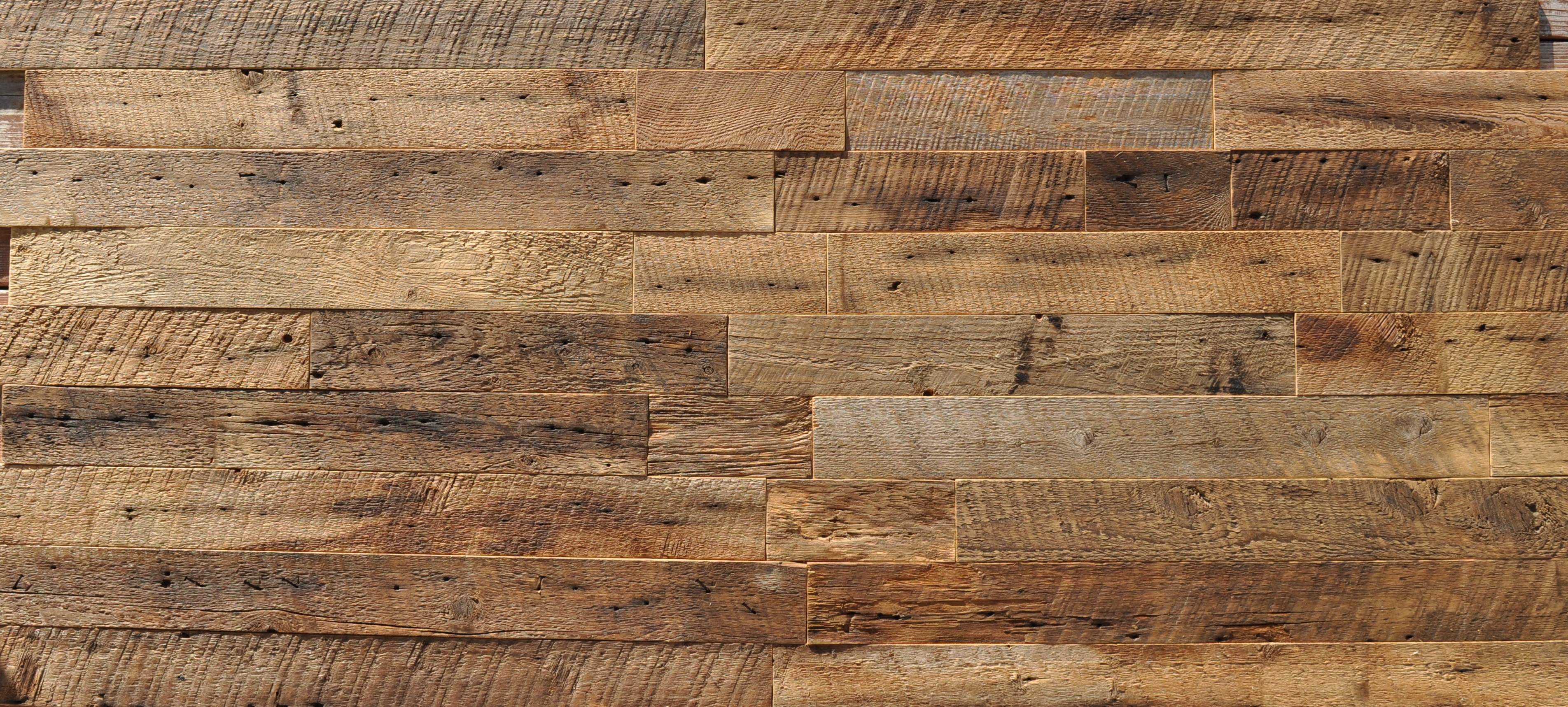 Wall With Wood Diy Reclaimed Wood Accent Wall Brown Waxed And Sealed 3 5